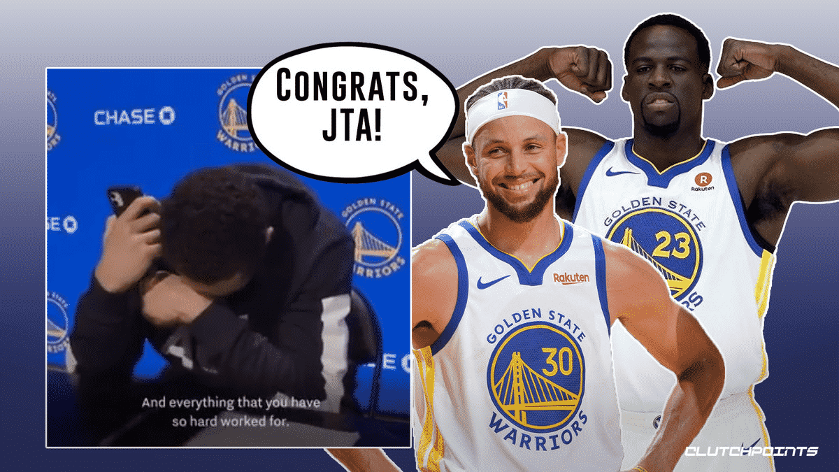 Warriors' Juan Toscano-Anderson in tears over heartfelt moment with mom after signing Warriors contract_thumbnail
