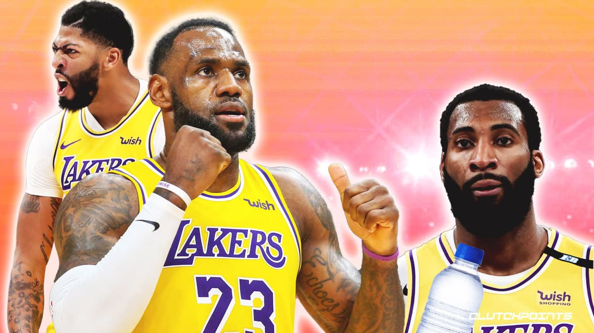 Anthony Davis, Andre Drummond, LeBron James, Lakers, Game 6, Suns,