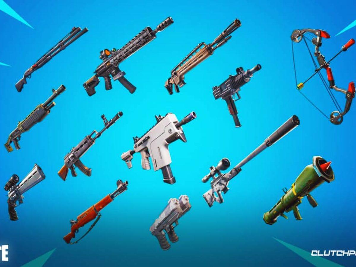 Fortnite Guns Ranked Fortnite Chapter 2 Season 7 New And Returning Weapons Guide