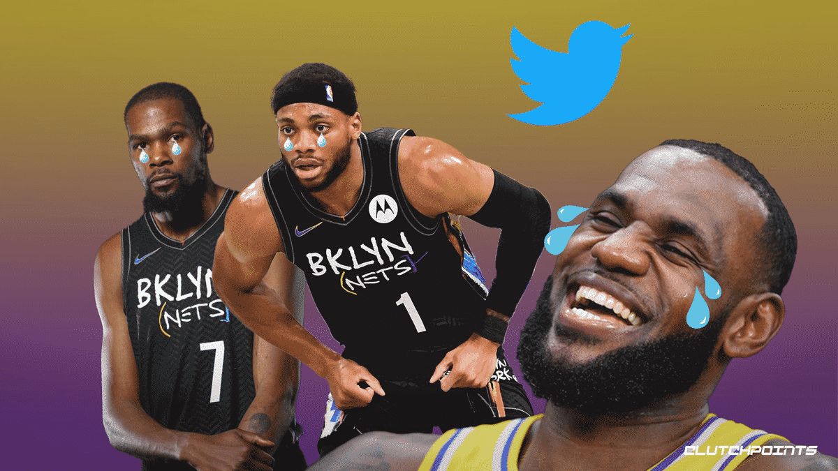 Lakers, LeBron James, Kevin Durant, Nets Bruce Brown