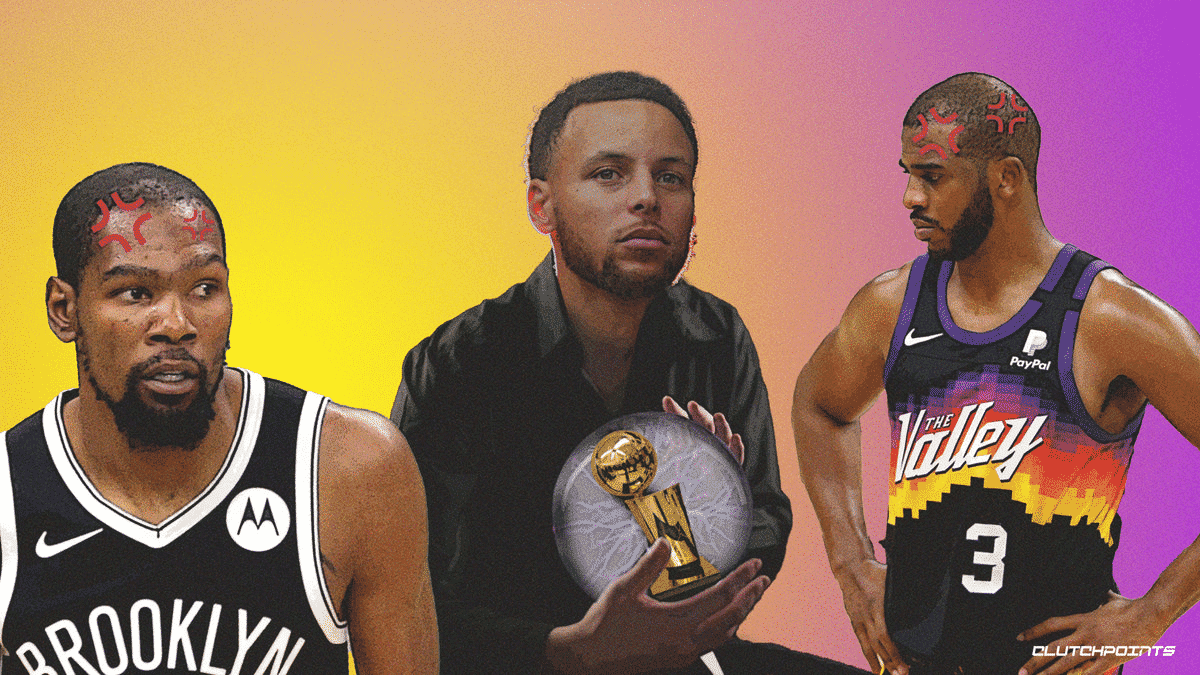 Stephen Curry Steph Curry Warriors Kevin Durant Nets Chris Paul Suns