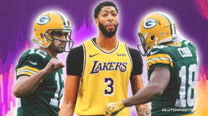 Lakers, Packers, Anthony Davis, Randall Cobb, Aaron Rodgers