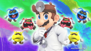 Dr. Mario with viruses