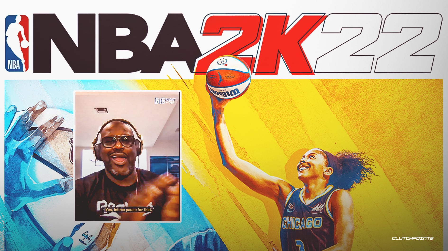 NBA 2K22, Shaquille O'Neal, Candace Parker