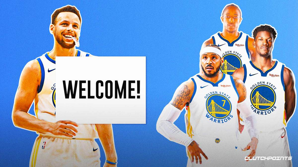 Warriors, Stephen Curry, Carmelo Anthony, Klay Thompson