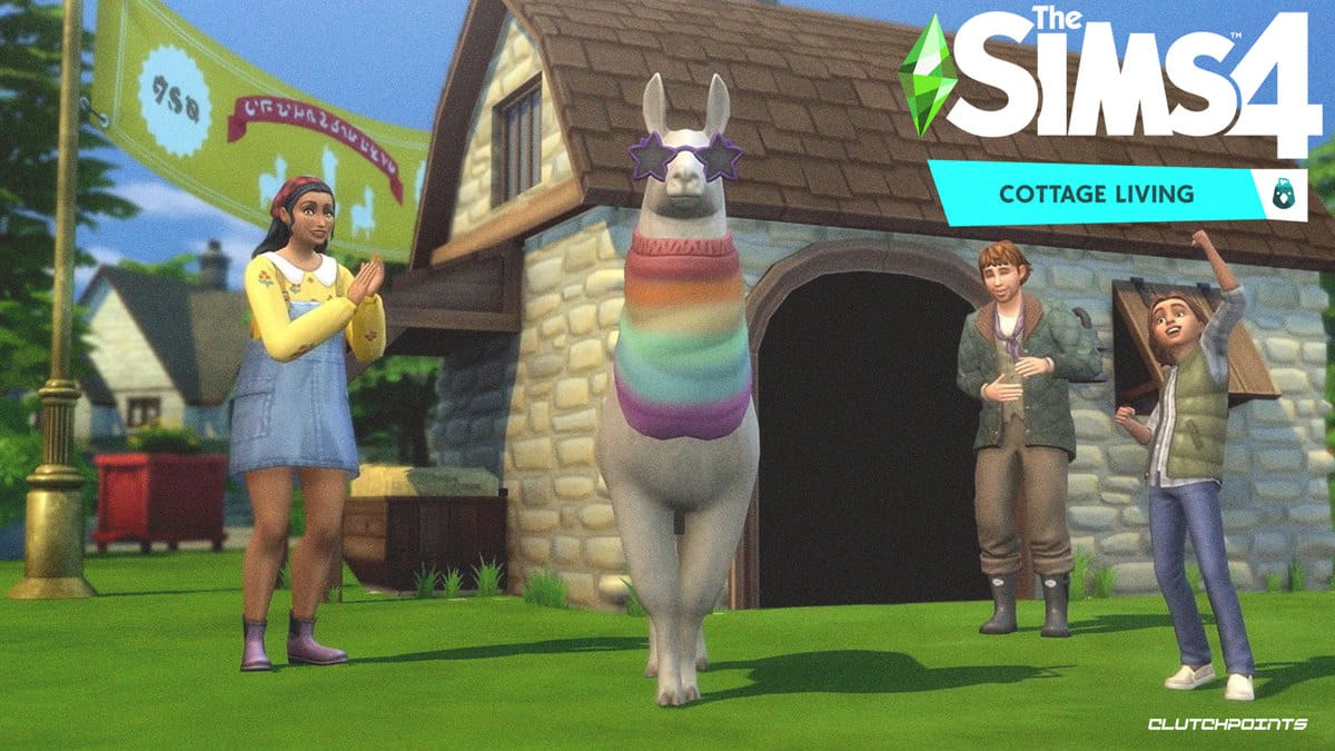 Details from Sims 4's Cottage Living Expansion Livestream