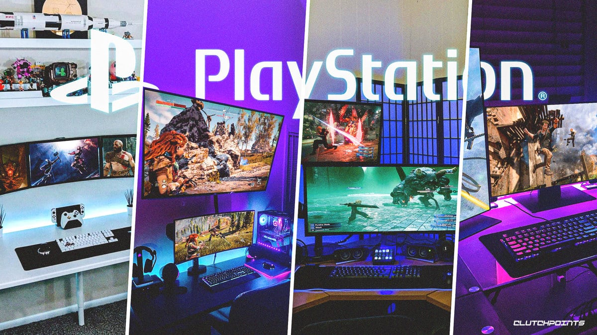 PC gaming setups featuring PlayStation-exclusive games