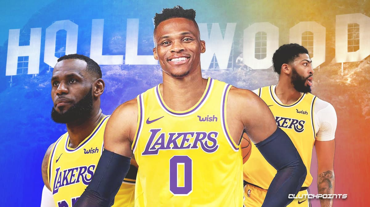 Lakers, Russell Westbrook, LeBron James, Anthony Davis