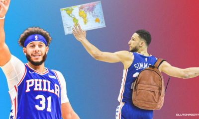 Sixers, Ben Simmons, Seth Curry