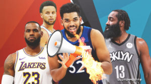 Karl-Anthony Towns, James Harden, Timberwolves, Nets