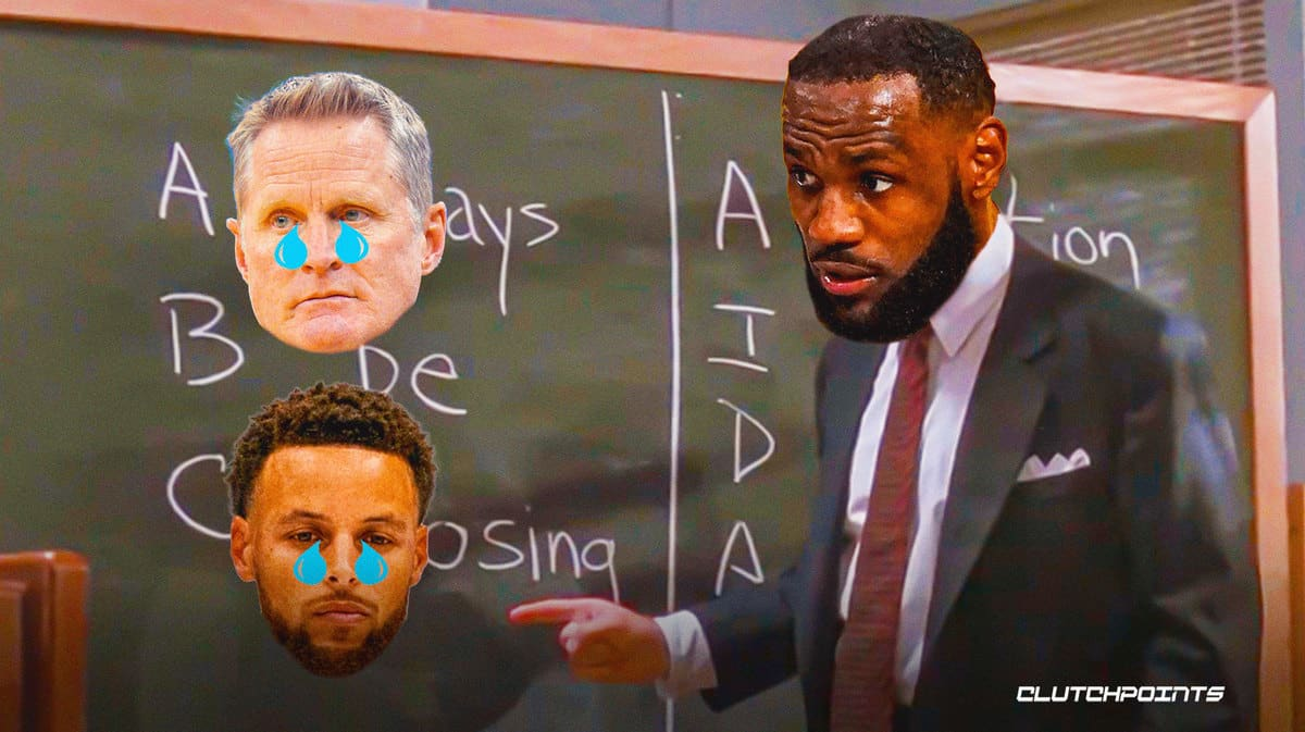 LeBron James, Lakers, Warriors, Stephen Curry