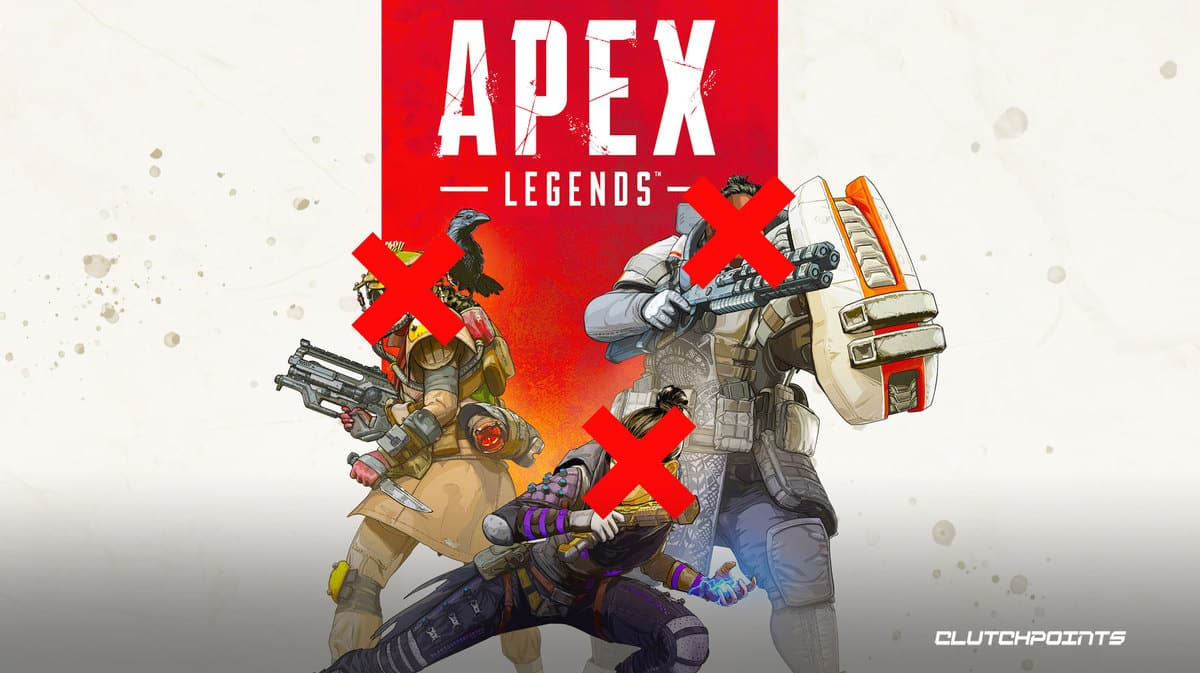 Apex Legends legends with x on their faces