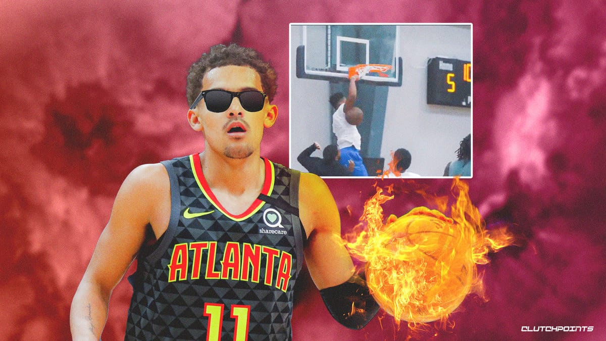 Trae Young, Hawks, Dennis Smith Jr., Pistons