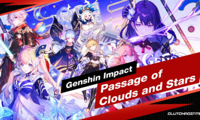 Genshin Impact Passage of Clouds and Stars Log-in Event Details