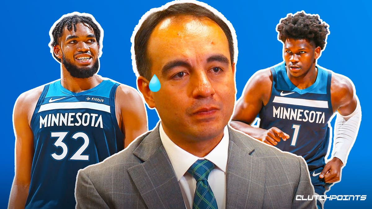Gersson Rosas, Timberwolves, Karl-Anthony Towns, D'Angelo Russell, Sachin Gupta